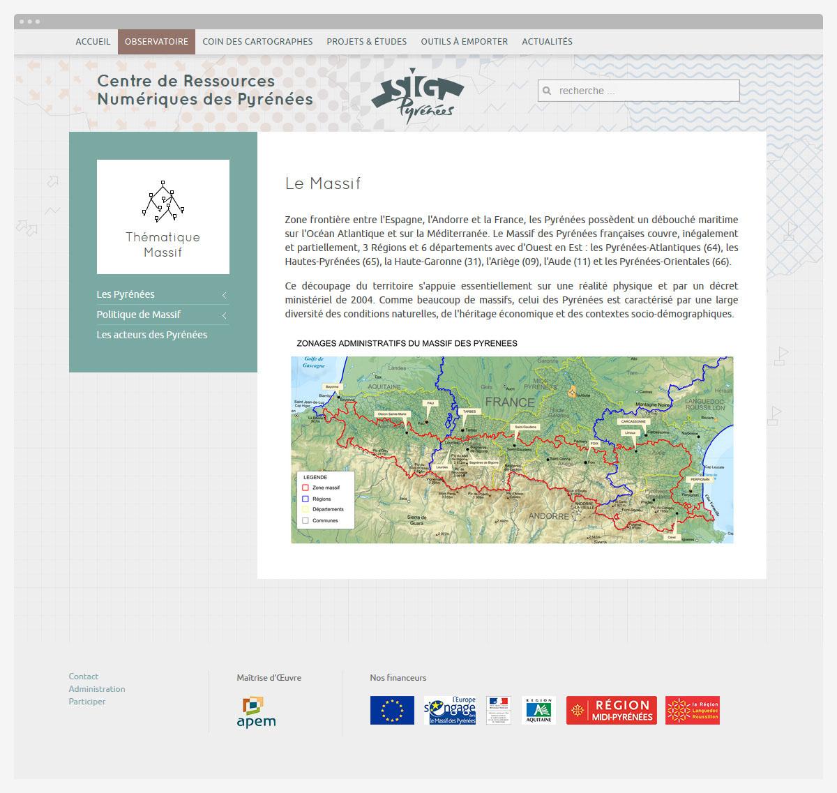 yves-saint-lary-sig-pyrenees-web-design-page