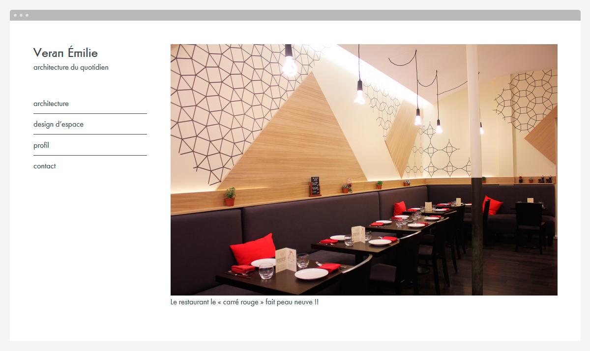 Identit d 39 une architecte et designer d 39 espace yves saint lary - Architecte et designer ...