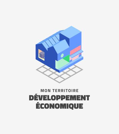 Icône Mon Territoire Développement Économique