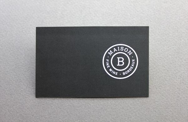 Cartes De Visite Maison B Recto