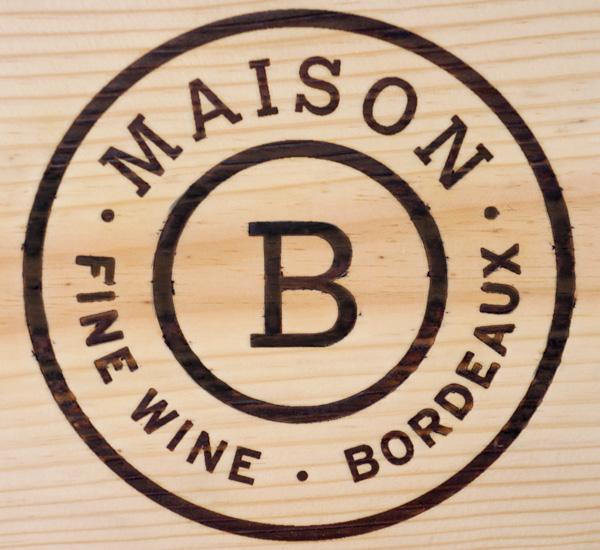 Logo Maison B pyrogravé