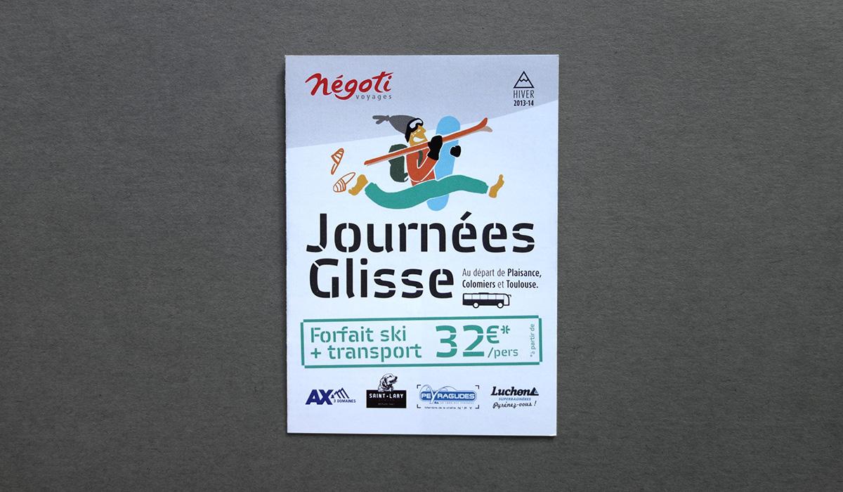 Couverture du flyer des Journées Glisse - Yves Saint-Lary